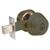 E63-10B Arrow Lock E Series Deadbolt in Dark Oxidized Satin Bronze Finish