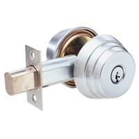 E63-26 Arrow Lock E Series Deadbolt in Bright Chromium Finish