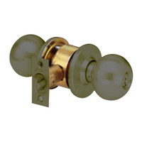 MK33-TA-10B Arrow Lock MK Series Cylindrical Locksets Double Cylinder for Asylum with TA Knob in Oil Rubbed Bronze Finish