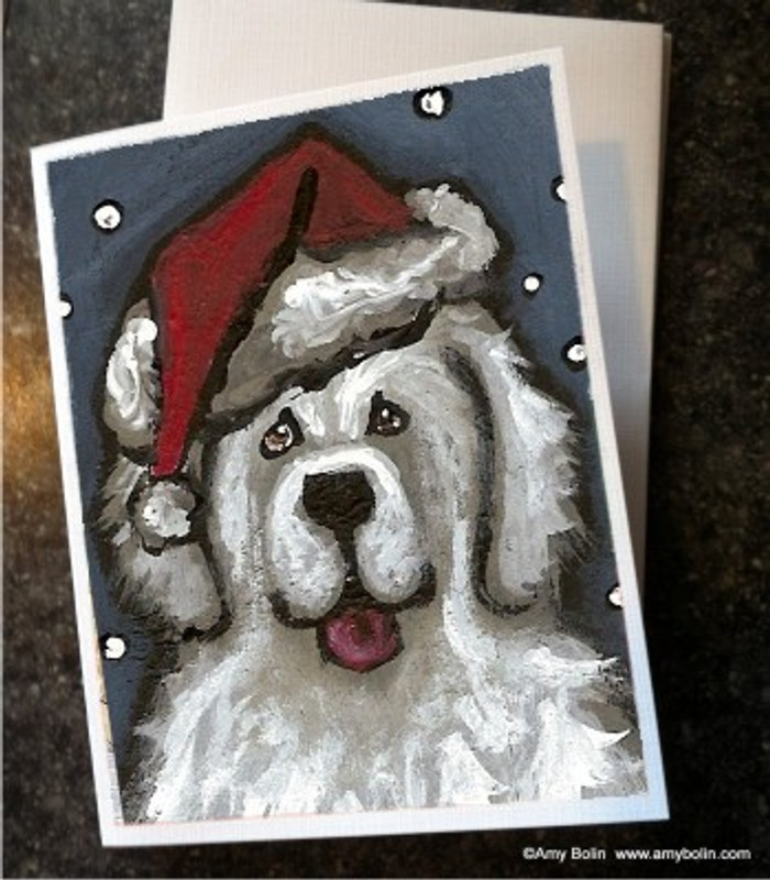 NOTE CARDS · SHAGGY CLAWS · GREAT PYRENEES · AMY BOLIN