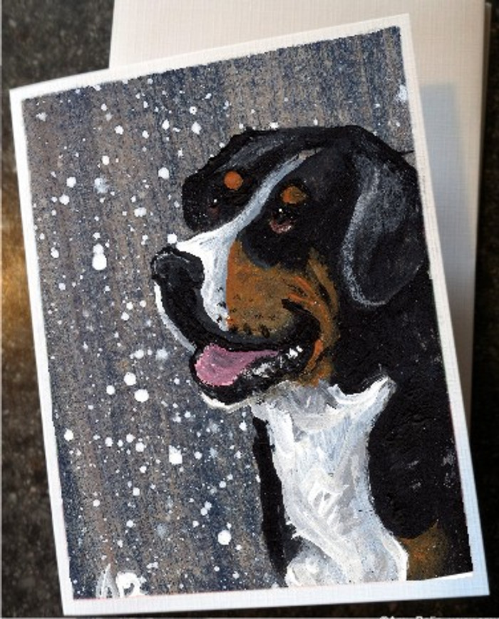 NOTE CARDS · SWISSY · GREATER SWISS MOUNTAIN DOG · AMY BOLIN