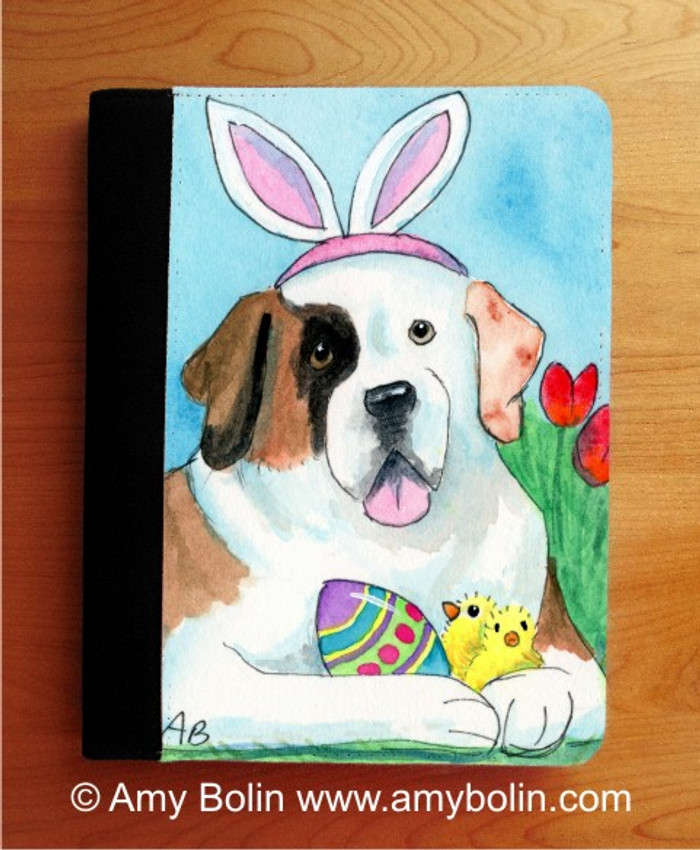 NOTEBOOKS (SEVERAL SIZES AVAILABLE) · EASTER SAINT · HALF MASK SAINT BERNARD · AMY BOLIN