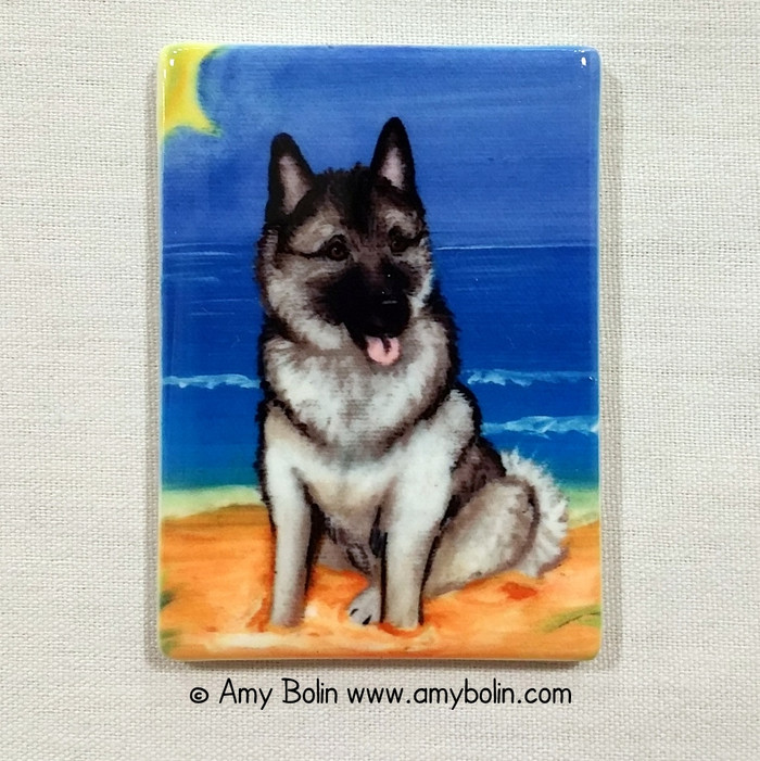 MAGNET · BEACH BUM · NORWEGIAN ELKHOUNDS · AMY BOLIN