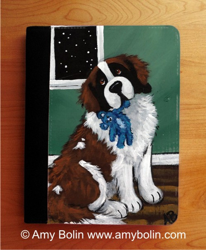 NOTEBOOKS (SEVERAL SIZES AVAILABLE) · BEDTIME BUDDIES · SAINT BERNARD · AMY BOLIN