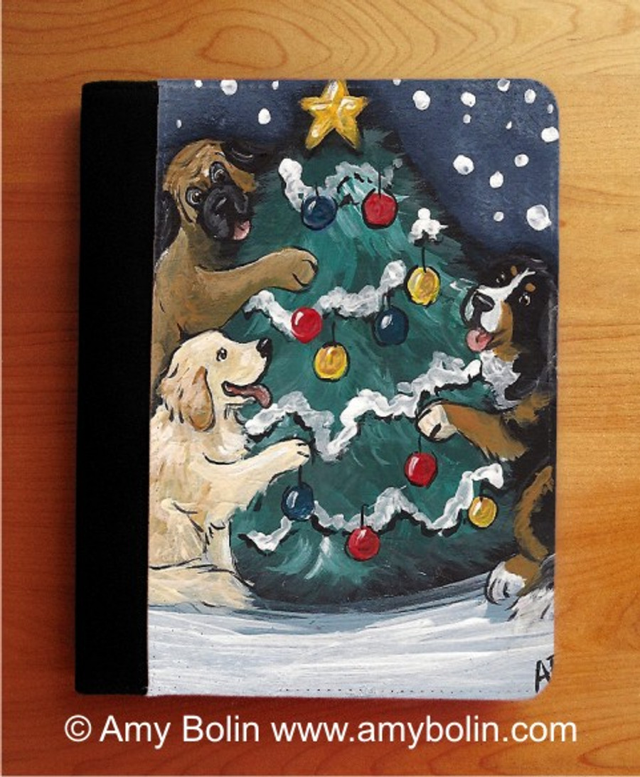 NOTEBOOKS (SEVERAL SIZES AVAILABLE) · CHRISTMAS TOGETHER · BERNESE MOUNTAIN DOG, GOLDEN RETRIEVER, MASTIFF · AMY BOLIN