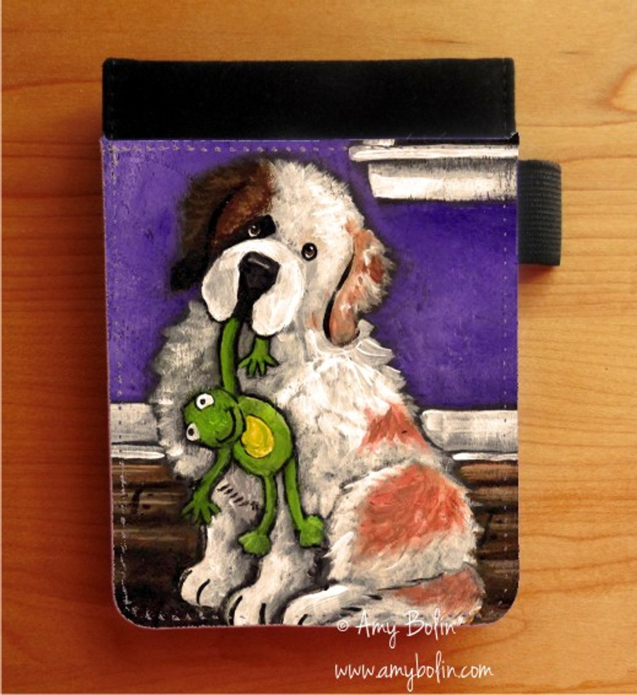 NOTEBOOKS (SEVERAL SIZES AVAILABLE) · BEDTIME BUDDIES · HALF MASK SAINT BERNARD · AMY BOLIN