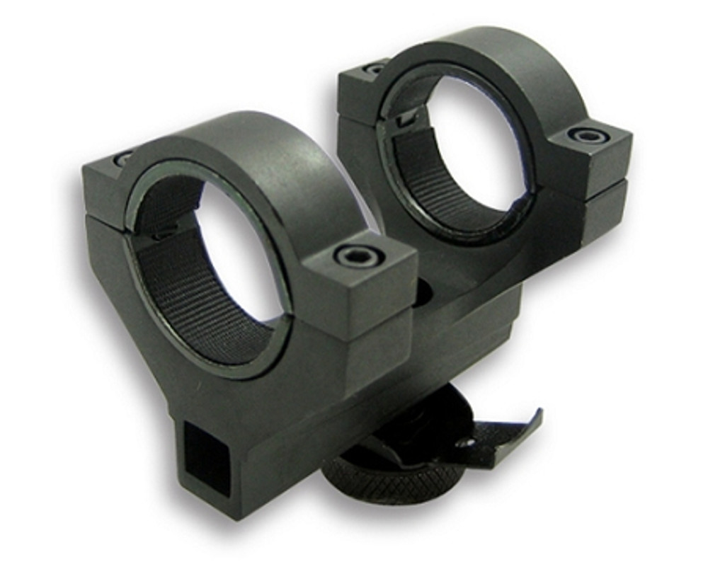 "AR15 Carry Handle 30MM Scope Mount with 1"" Inserts/Compact 2"""
