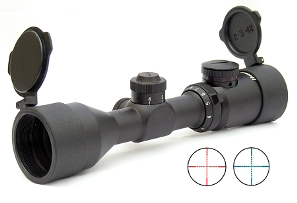 Compact Riflescope 3-9X42GDT with Illuminated MilDot Reticle