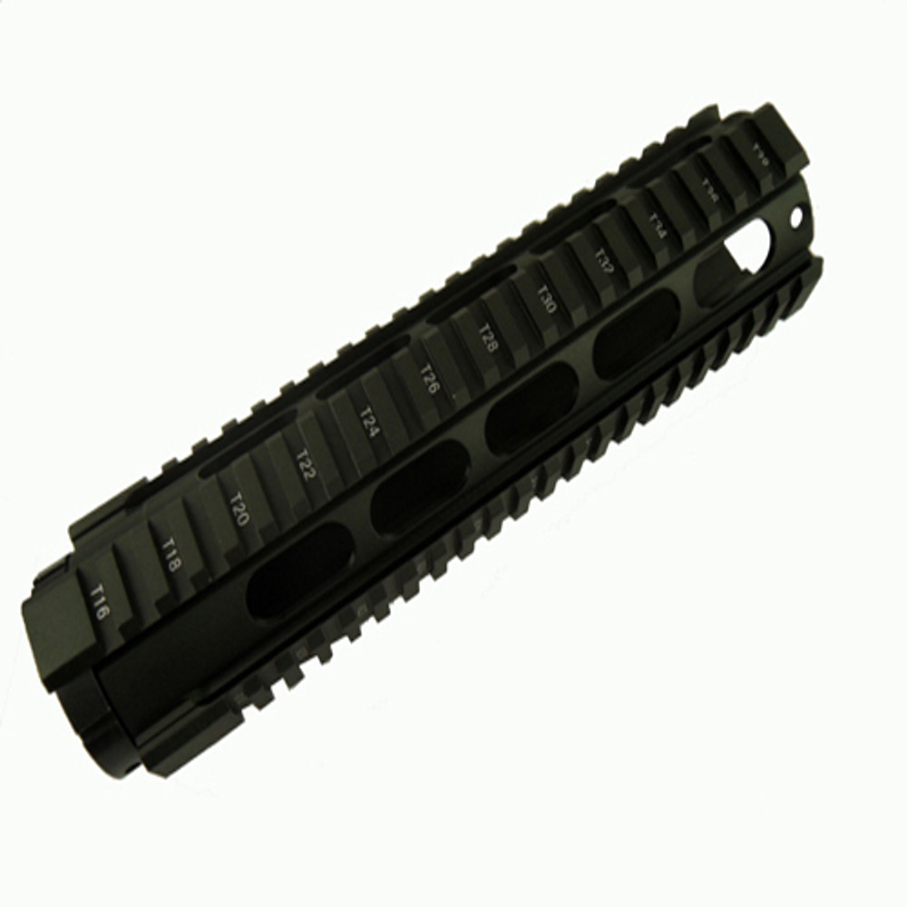 "AR-15 Omega Mfg Inc Carbine Mid Length 10"" Free Floating Rail System"