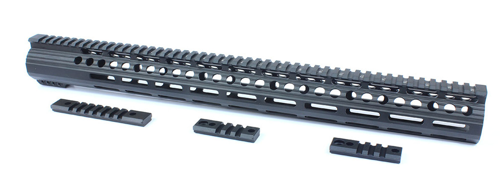 "AR 15 20"" Super Slim M-Lok Free Float Handguard"