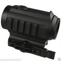 Omega Mfg ? Extreme Duty 1x30 Dot Sight Red Green Illum with Top Iron Sight