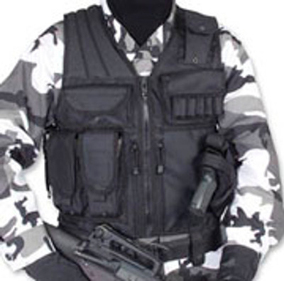 Tactical Vest/Black Large