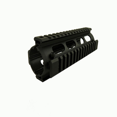 Carbine Length Quad Rail Fore-End Hand Guard