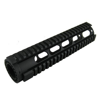 "AR-15 Omega Mfg Inc 9"" Mid Length Free Float Rail System"