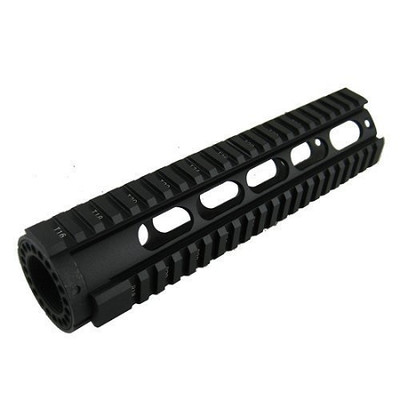 "Ar-15 Omega Mfg Inc  Mid/ 10"" Specter Length Free Float Quad Rail V2"