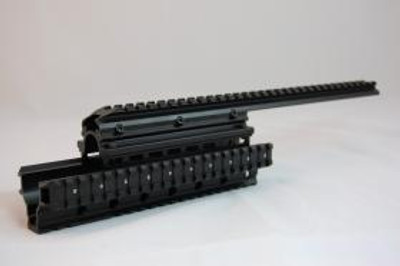 Saiga 12 & 20 Quad Rail System Fits all Importers & Mfg