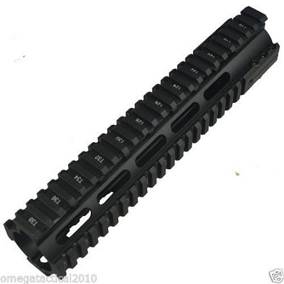 """OMEGA TACTICAL INC  O-Pro  10"""" Inch Free Floating Rail System"""