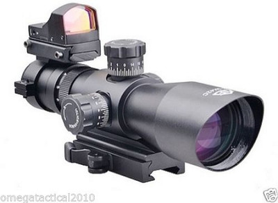 Trinity Force Redcon V2 3-9X42 Scope & Micro Red Dot Sight QR Mount