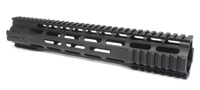"Modular Pro 12"" Length Modular Free Float Quad Rail With Steel Nut"