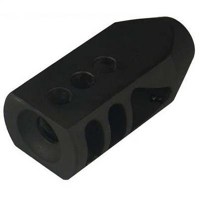 Omega Mfg AR-15 5.56 223 1/2x28 TPI Competition Tanker Muzzle Brake Compensator w/crush washer