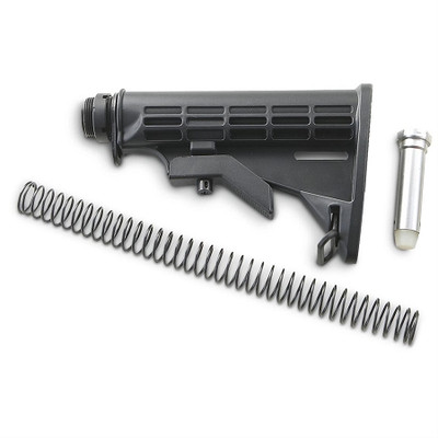 M4 Ar-15 M16 Collapsible Mil Spec Size Stock Kit UTG Mil Spec Buffer Tube