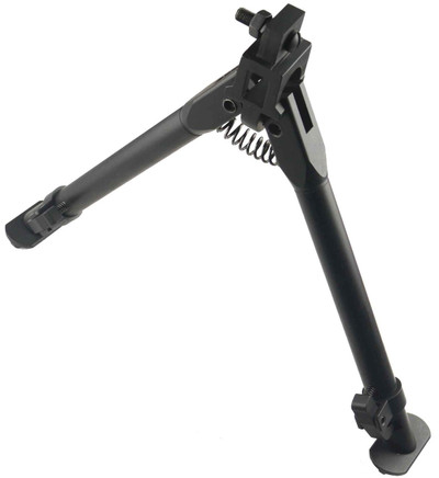 "SKS Rifle Bayonet Lug Mounted Folding Bipod 9-13"", Aluminum 6061 T6"