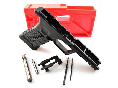 Polymer 80 Glock 80% Pistol Kit Includes Jig & Tools  EZ To Build Super HOT !! Comes With Glock Cleaning Mat Parts List