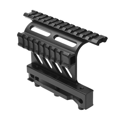 AK-47 Double Picatinny Side Mounted Optics Rail