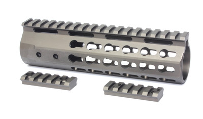 "Davidson Defense 7"" Super Slim Keymod Handguard - Tactical Bronze AR15"