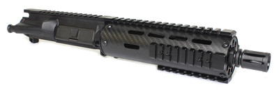 "Davidson Defense Completed Pistol Upper - 7.5"" Stainless Steel Barrel 1:7 - 7"" Carbon Fiber Handguard .223 Wylde"