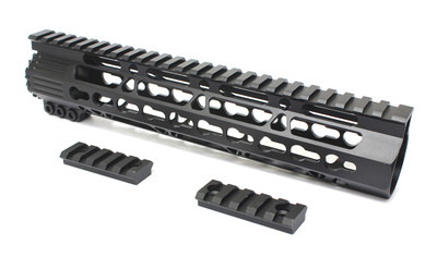 "Davidson Defense AR-15 Free Float Keymod Trapezoid Super Slim Handguard - 10"" Specter Length"