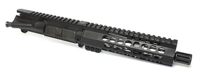 "Davidson Defense Premium Billet Stainless Steel 7.5"" .223 Wylde 1:7 Barrel  W/ 7"" Ultra Slim Handguard Pistol Upper (No BCG)"
