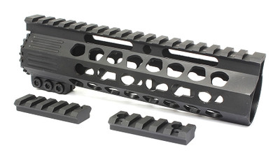 "Davidson Defense Pentagon 7"" Super Slim Ultra Lite Keymod Handguard W/ Steel Barrel Nut"
