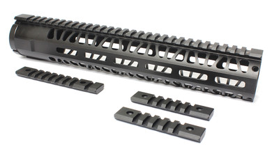 "AR-15 M-Lok Series Free Float Handguard 12"" Carbine Length For .223 / 5.56"