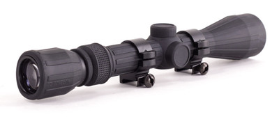 Trinity Force Rubber Armored Rifle Scope 3-9x40 Mil Dot Reticle Ruby Lens