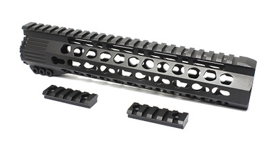 "Davidson Defense Pentagon 10"" Super Slim Ultra Lite Keymod Handguard W/ Steel Barrel Nut"
