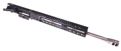 "New Davidson Defense Ultra Premium Billet Upper W/ Stainless Steel .223 Wylde 1:8 Barrel & 12"" Slim Keymod Handguard Featuring SS Migi Muzzle Brake"