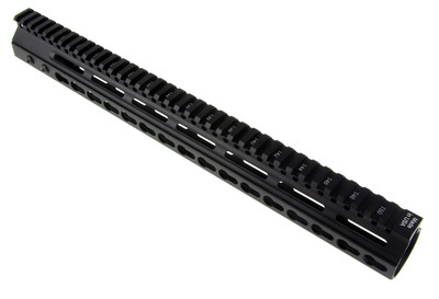 "Davidson Defense 15"" Ultra Small Oval Vent KeyMod Handguard -USA MADE!"