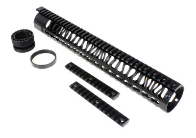 "15"" Gen 3 Keymod Handguard Rail Rifle Length AR-10 LR308 DPMS Thread Pattern"