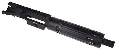 "Davidson Defense Assembled Pistol Upper W/ 7.5"" SS 5.56 Nato 1:7 Barrel & Smooth Tube Handguard"