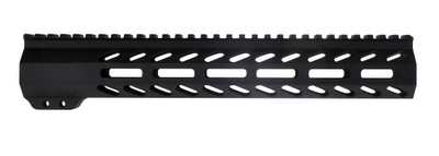"Davidson Defense AR-15 Slant Port M-LOK Free Float Quad Rail 12"" Rifle Length & Barrel Nut Made in USA"