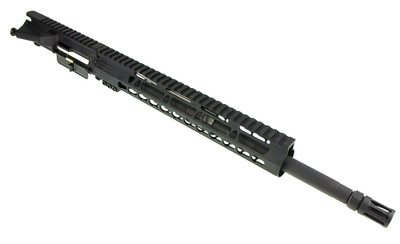 "Sigma Precision AR-15 Upper W/ 16"" 1-7 Twist Phosphate Barrel (Cryo Treated) &  12"" Free Float Keymod Trapezoid Clamp On Handguard"