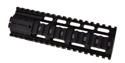 O-Pro 7 Inch Length Free Float Rail