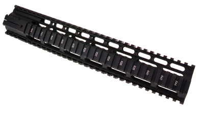 O-Pro 13.5 Inch Free Float Quad Rail