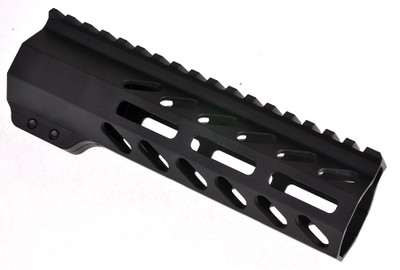 "Davidson Defense AR-15 Slant Port M-LOK Free Float Quad Rail 7"" Length & Barrel Nut Made in USA"