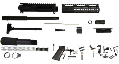 "Aero Precision ""Silent Hawg"" AR-15 Pistol Complete Kit 10.5"" .300 Blackout and Slim Handguard (No Lower & Bcg)"