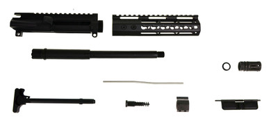 "Aero precision ""The Hawg"" AR-15 Pistol Upper Kit Echo Slim Handguard & 10.5"" HBAR Parkerized .300 Blackout 1:7 Twist Barrel"