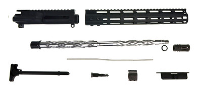 "Aero Precision ""Chieftain"" AR-15 Rifle Upper Kit Slim M-Lok Handguard &  16"" Match Diamond Fluted 416R Stainless Steel Barrel 1-9"""