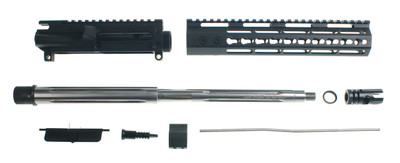 "Davidson Defense ""The Invader"" Premium Ultra Match AR-15 Upper Kit W/ 16"" Stainless Fluted .223 Wylde 1:8 Barrel  X-Comp Muzzle Brake & 10"" Echo Keymod Handguard"