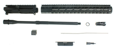 "Davidson Defense ""Renegade Series"" AR-15 Upper Kit W/ 16"" Colt 1:8 Barrel Slim 15"" Keymod Handguard & X-Comp Muzzle Brake"